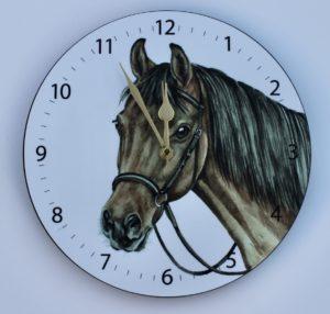 Bay Horse Wall Clock CLK-EQ05