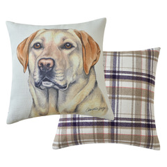Viceni Golden labrador Cushion (VCUS-151)