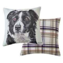 Viceni Border Collie Cushion VCUS-154