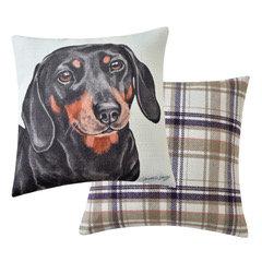 Dachshund Dog Cushion VCUS-186