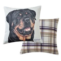 Rottweiler Dog Cushions VCUS-48