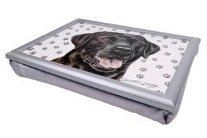 Black Labrador Lap Tray (VLT-125)