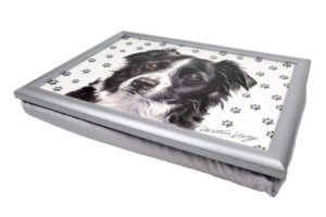 Border Collie Lap Tray (VLT-154)