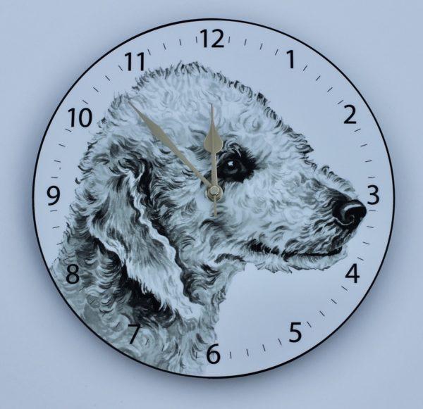 Bedlington Terrier Wall Clock CLK-101