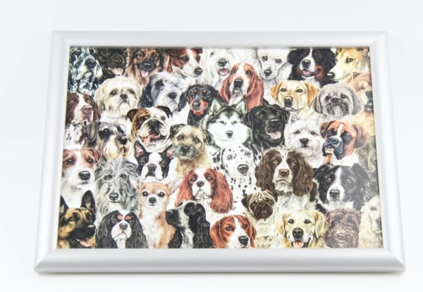 Dogs Montage Lap Tray (VLT-MD01)