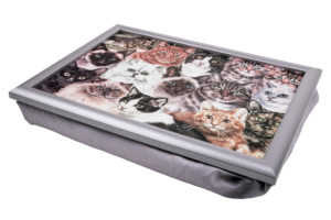 Cats Montage Lap Tray (VLT-MC01)