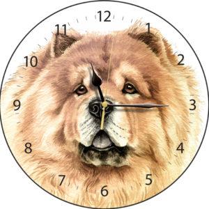 Chow Chow Dog Clock