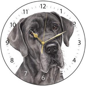 Great Dane Dog Clock