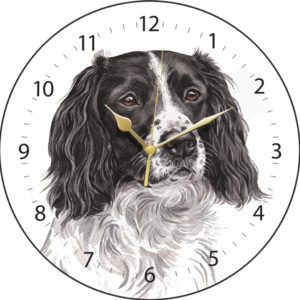 Springer Spaniel Dog Clock