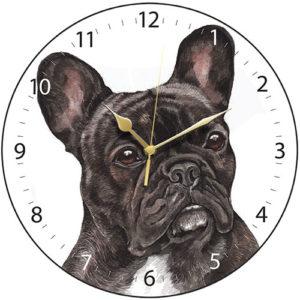 French Bulldog Dog Clock
