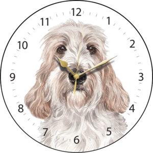 Petit Basset Griffon Vendeen Dog Clock