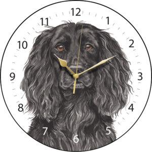 Working Cocker Spaniel Dog Clock