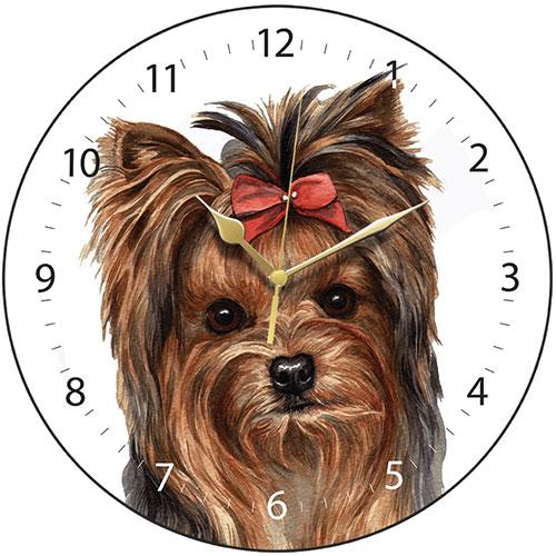 Yorkshire Terrier Dog Clock