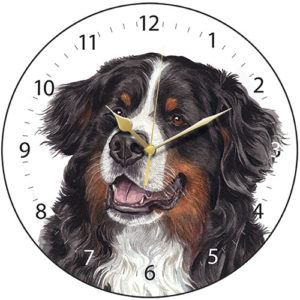 Bernese Mountain Dog Dog Clock