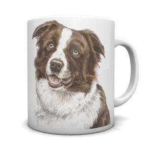 Border Collie Ceramic Mug by Waggydogz