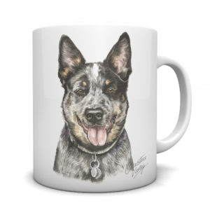 Australian Cattle Dog Ceramic Mug by Waggydogz