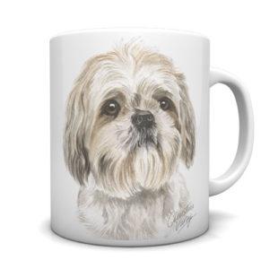 Shih Tzu Ceramic Mug by Waggydogz