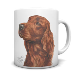 Irish Setter Ceramic Mug by Waggydogz