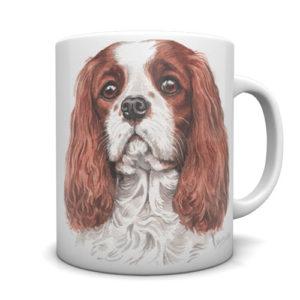 Cavalier King Charles Spaniel Ceramic Mug by Waggydogz