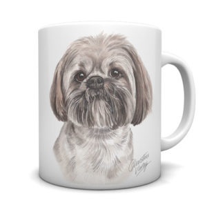 Lhasa Apso Ceramic Mug by Waggydogz