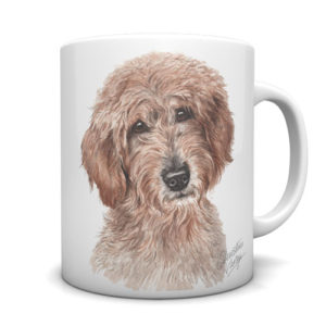 Labradoodle Ceramic Mug by Waggydogz