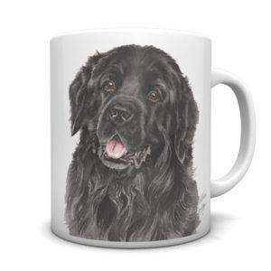 Newfoundland Ceramic Mug by Waggydogz