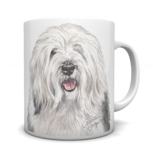 Old English Sheepdog Ceramic Mug by Waggydogz