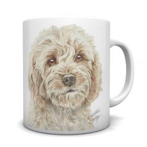 Cockapoo Ceramic Mug by Waggydogz