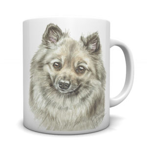 German Spitz Ceramic Mug by Waggydogz