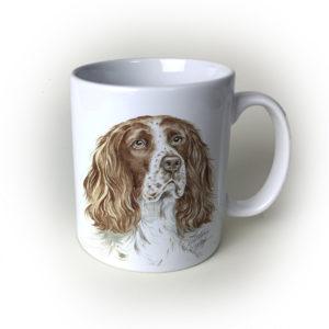 Springer Spaniel Dog Ceramic Mug by Waggydogz