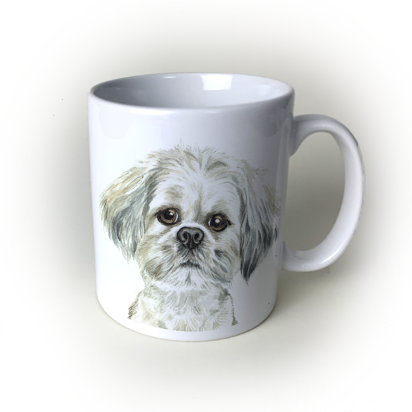 Lhasa Apso dog mug