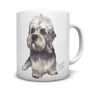 Dandie Dinmont Ceramic Mug by Waggydogz