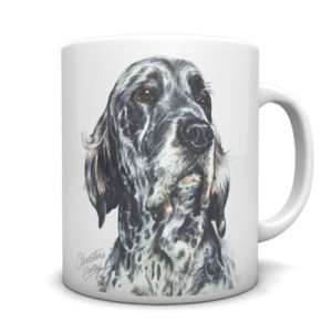 English Setter Ceramic Mug by Waggydogz