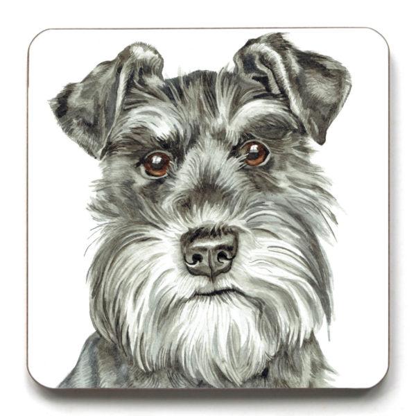 Schnauzer Dog breed Coaster (CST-262)