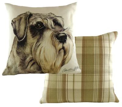 Schnauzer Dog Cushion