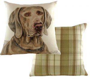 Weimaraner Dog Cushion