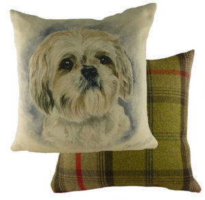Shih Tzu Dog Cushion