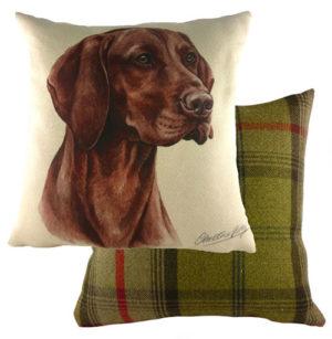 Hungarian Vizsla Dog Cushion