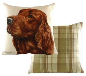 Irish Setter Dog Cushion