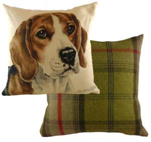 Beagle Dog Cushion