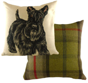 Scottish Terrier Dog Cushion