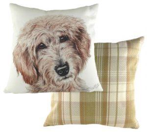 Labradoodle Dog Cushion