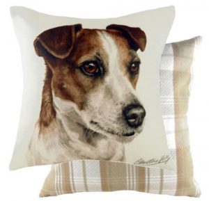 Jack Russell Dog Cushion