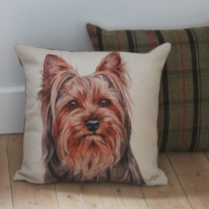 Yorkshire Terrier Dog Cushion