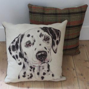 Dalmatian Dog Cushion