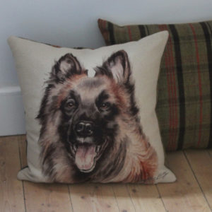 Belgian Shepherd Dog Cushion