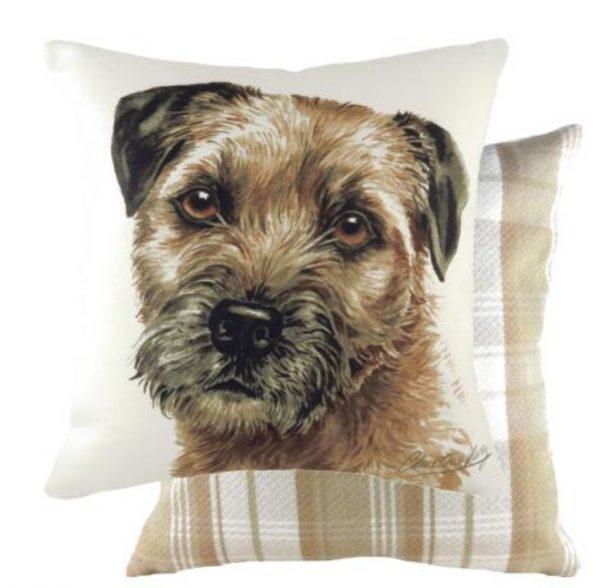 Border Terrier Dog Cushion