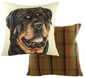 Rottweiler Dog Cushion