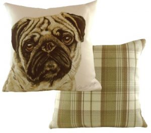 Pug Dog Cushion