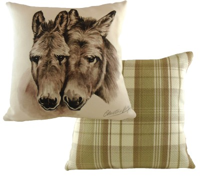 Donkeys  Cushion